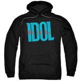 Hoodie: Billy Idol- Logo Pullover Hoodie
