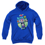 "Youth Hoodie: Teen Titans Go- Action ""T"" Pullover Hoodie"