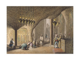 The Grotto of the Nativity, Bethlehem, 1802 Giclee Print by Luigi Mayer
