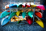 Boats at the Ready Giclee Print by Jobe Waters