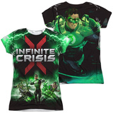 Juniors: Infinite Crisis- IC Green Lantern (Front/Back Print) Shirts
