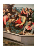 The Burial of St. Esteban Giclee Print by Vicente Juan Macip