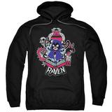 Hoodie: Teen Titans Go- Raven Pullover Hoodie