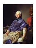 Joseph-Marie Terray (1715-78) Abbe De Molesmes, 1774 Giclee Print by Alexander Roslin