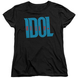Womens: Billy Idol- Logo T-Shirt