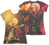 Juniors: Billy Idol- Rebel (Front/Back Print) Shirt