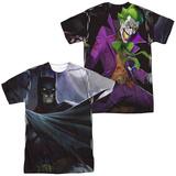 Infinite Crisis- Batman VS. Joker (Front/Back Print) Sublimated