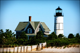 Sandy Neck Lighthouse Giclee Print by Jobe Waters