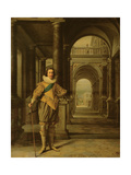 Portrait of Charles I, King of England, Scotland and Ireland, 1626-27 Giclee Print by Daniel Mytens