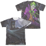 Infinite Crisis- Batman VS. Joker (Front/Back Print) T-Shirt