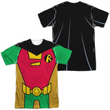 Teen Titans Go- Robin Uniform (Front/Back Print) Shirts