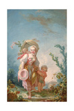 The Shepherdess, 1748-52 Impression giclée par Jean-Honore Fragonard