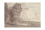 Landscape (Lake Geneva) Giclee Print by Francis Towne