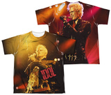 Youth: Billy Idol- Rebel (Front/Back Print) T-Shirt