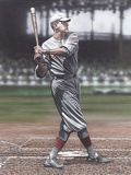 Babe Ruth as a Red Sox Giclee Print by Darryl Vlasak