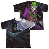 Youth: Infinite Crisis- Batman VS. Joker (Front/Back Print) Shirt
