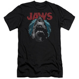 Jaws- Water Circle (Slim Fit) T-shirts