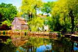 Jobe Waters - Old Grist Mill Digitálně vytištěná reprodukce