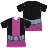 Teen Titans Go- Beast Boy Uniform (Front/Back Print) T-Shirt