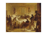 The Last Moments of Charles-Ferdinand of France Giclee Print by Alexandre Evariste Fragonard