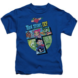 "Juvenile: Teen Titans Go- Action ""T"" T-Shirt"