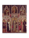 Altarpiece of St. Anthony Giclee Print by Ludovico Brea