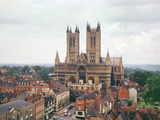 View of Lincoln Cathedral Photographic Print