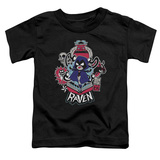 Toddler: Teen Titans Go- Raven T-shirts