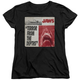Womans: Jaws- Terror T-Shirt