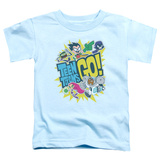Toddler: Teen Titans Go- Go T-Shirt