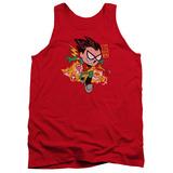 Tank Top: Teen Titans Go- Robin Tank Top