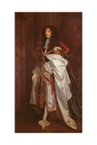 Portrait of Prince Rupert (1619-1682) in Garter Robes Giclee Print by Sir Peter Lely