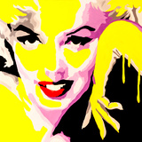 Temptress Marilyn Monroe Giclee Print by Pop Art Queen