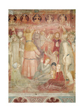 The Preaching of Saint Peter Martyr, C.1366-68 Giclee Print by Andrea Di Bonaiuto