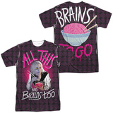iZombie- Brains Too (Front/Back Print) Shirt
