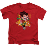 Juvenile: Teen Titans Go- Robin T-shirts