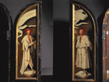 The Cleansing of Naaman Triptych Photographic Print by Cornelis Engelbrechtsen