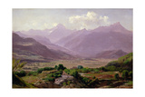 A Valley at Dawn, 1852 Giclee Print by Antoine Chintreuil
