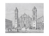 Havana Cathedral, Cuba, 1880S Giclee Print