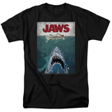 Jaws- Lined Poster Shirt
