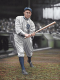 Ty Cobb Batters On Deck Giclee Print by Darryl Vlasak