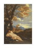 St. Bruno Giclée-tryk af Pier Francesco Mola