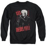 Crewneck Sweatshirt: Billy Idol- Brick Wall T-Shirt