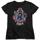 Womans: Teen Titans Go- Raven T-Shirt