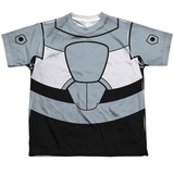 Youth: Teen Titans Go- Cyborg Uniform T-Shirt