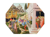 The Abduction of Helen, C.1450-5 Giclee Print by Zanobi Di Benedetto Strozzi