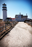 Highland Lighthouse Cape Cod MA Portrait Giclee Print by Jobe Waters