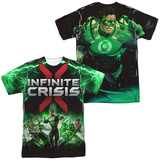 Infinite Crisis- IC Green Lantern (Front/Back Print) T-shirts