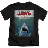 Youth: Jaws- Lined Poster T-shirts