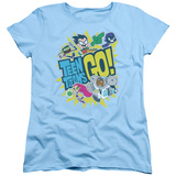 Womans: Teen Titans Go- Go Shirts